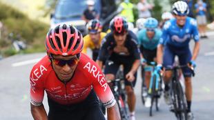 Nairo, en una etapa del Tour de Francia 2020.