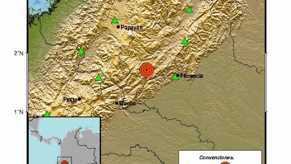 Temblor en Colombia: Un sismo de 4.1 grados se sintió la ...