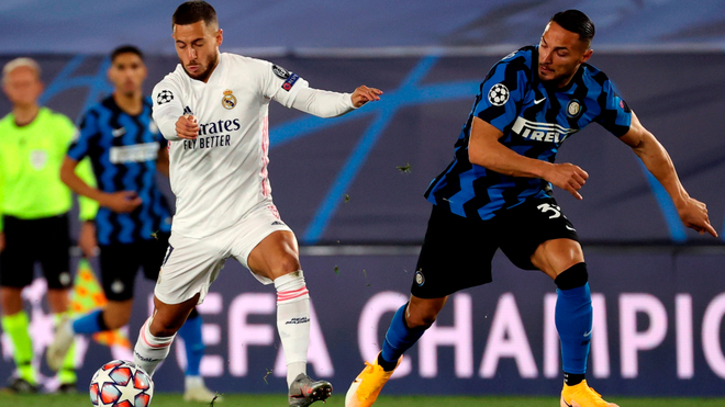 Champions League Real Madrid V Inter Milan Live And Direction Of The Match From Date 3 Champions League 2020