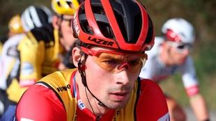 Roglic espera confirmar la victoria de la Vuelta en el Alto de la...