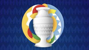 Póster oficial de la Copa América 2021.