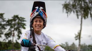 Mariana Pajón, doble campeona olímpica.