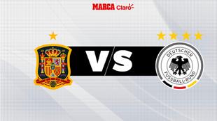 España - Alemania: horario y dónde ver por televisión el partido de...