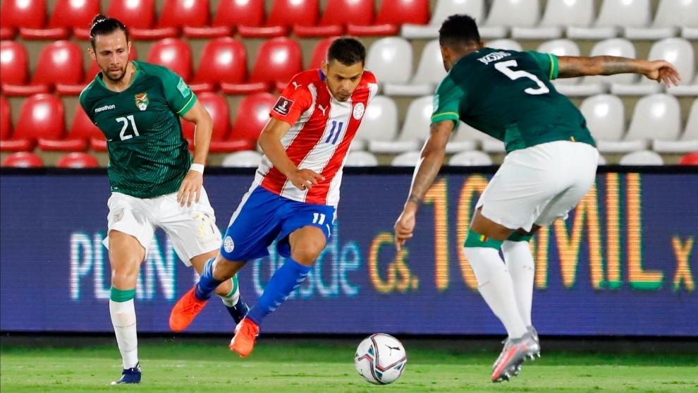 Paraguay 2-2 Bolivia: Bolivia rompe su racha de derrotas y arranca un punto  a Paraguay   MARCA Claro Colombia