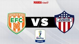 Envigado vs Atlético Junior: hoy en vivo online: hora, fecha y canal...