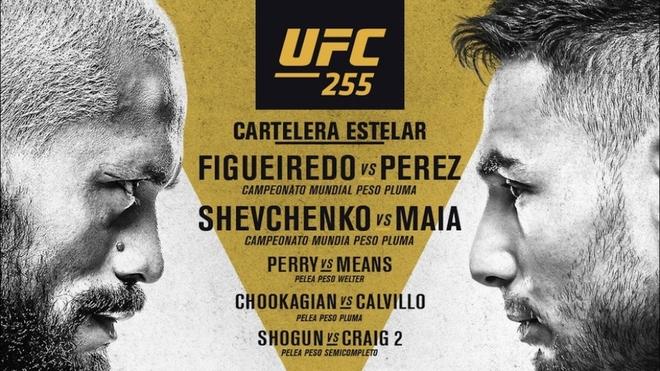 Horario y cómo ver en vivo online la pelea UFC 255: estelar...