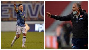 James Rodríguez y Carlos Queiroz, un choque de trenes en la...
