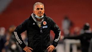 Carlos Queiroz estaría contando las últimas horas en la Selección.