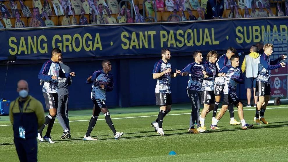 El uno a uno del Real Madrid contra el Villarreal: ¿dónde está Eden ...