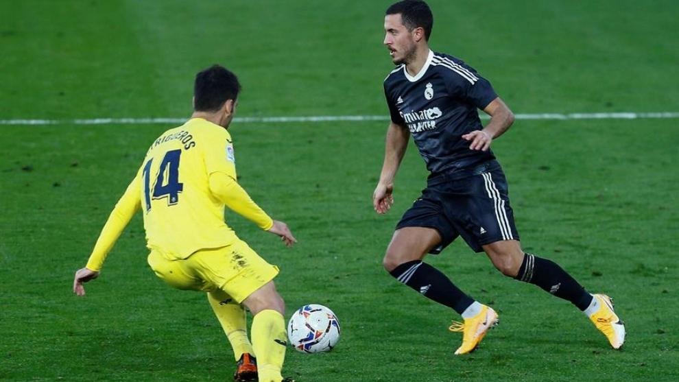 Eden Hazard no despega en el Real Madrid