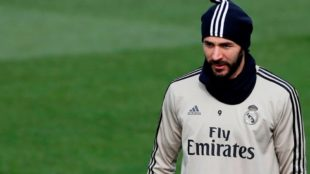 Benzema no estará en San Siro para el duelo de Champions