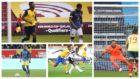 Jeison Murrillo, Dávinson Sánchez, David Ospina y Yerry Mina,...