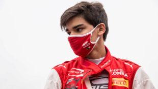 Sebastián Montoya sufre un aparatoso accidente en la Fórmula 4.
