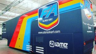Fernando Alonso crea su propio equipo de Kart