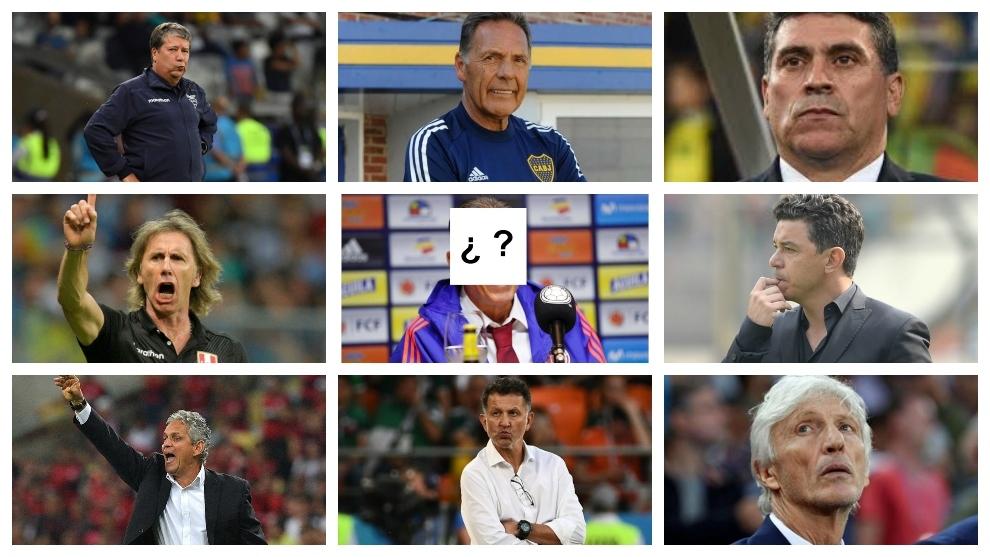 Todos los relacionados con el banquillo de la Selección Colombia.