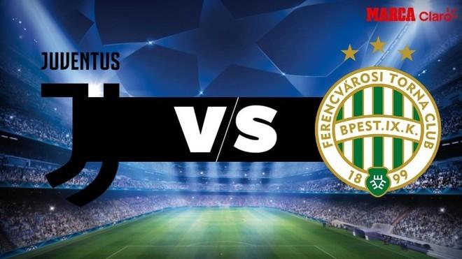 Juventus vs Ferencvaros en vivo online el partido por la Champions ...