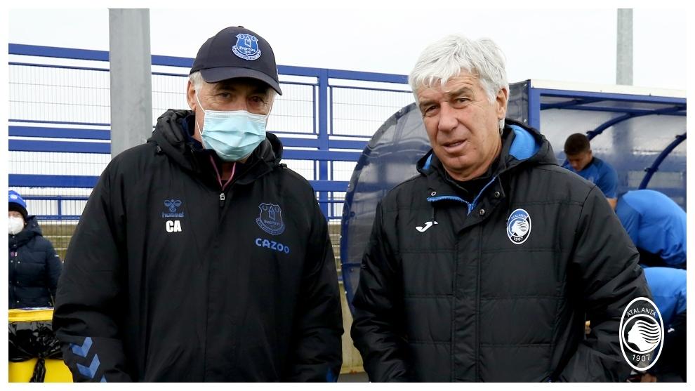 El Everton de James y Ancelotti hace de anfitrión con el Atalanta de ...