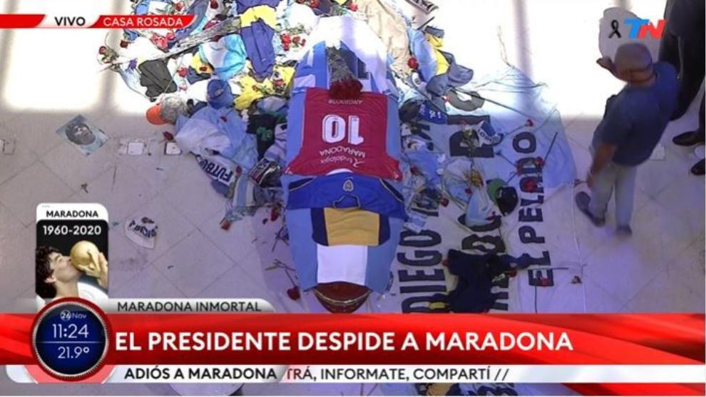 Murió Maradona: Maradona, última hora del funeral de Diego, en vivo 9