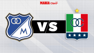 Millos vs Once Caldas en vivo: Liguilla de eliminados Liga Betplay...