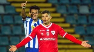 Luis Díaz, en el partido contra Santa Clara.