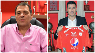 Tulio Gómez y Juan Cruz Real.