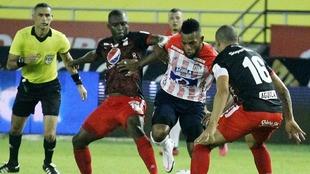 Se viene un lindo de goleadores entre Borja y Adrián Ramos.