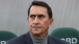 Alexandre Guimaraes, durante un partido.