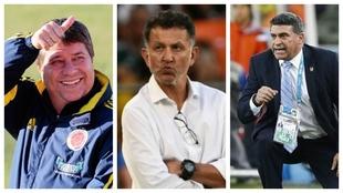 Hernán Darío 'Bolillo' Gómez, Juan Carlos Osorio y Luis...