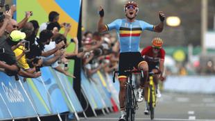 Greg Van Avermaet se impuso en la prueba en ruta de Río 2016.