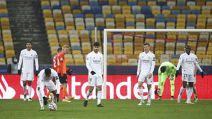 El Real Madrid cayó contra el Shakhtar Donetsk por la quinta jornada...