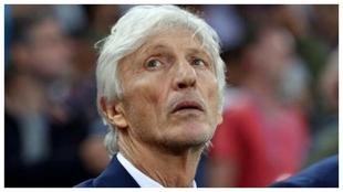 José Néstor Pekerman, entrenador de Colombia en Brasil 2014 y en...