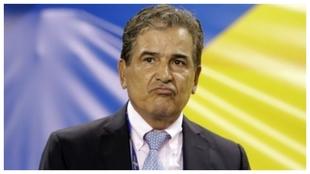 Jorge Luis Pinto, uno de los candidatos a dirigir la Selección...