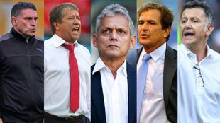 Colage de Suáre, Gómez, rueda, Pinto y Osorio.