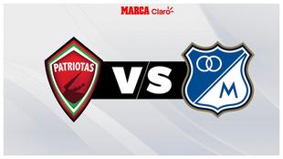 Patriotas vs Millonarios, horario y dónde ver por TV el partido del...