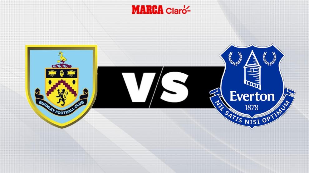 Burnley vs Everton, live match v