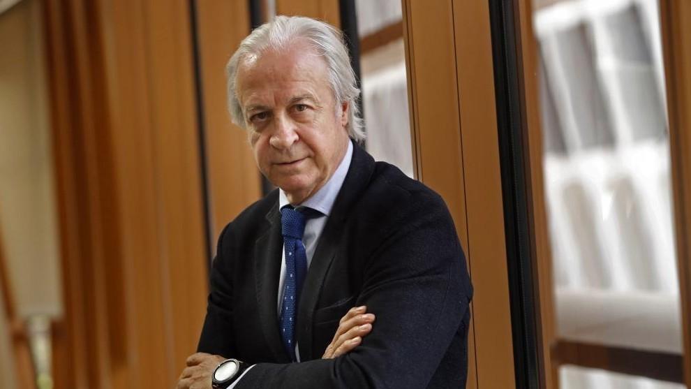 Carles Tusquets, presidente de la Junta Gestora del Barcelona.