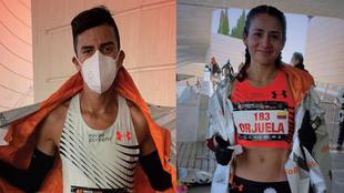 Iván González y Angie Orjuela, clasificados a Tokyo 2020