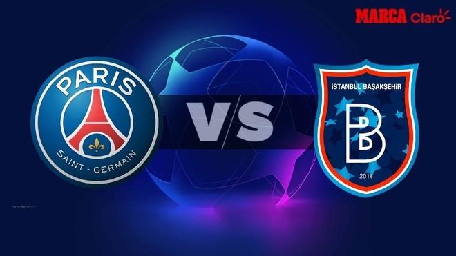PSG vs Istanbul Basaksehir, en vivo online el partido de la ...