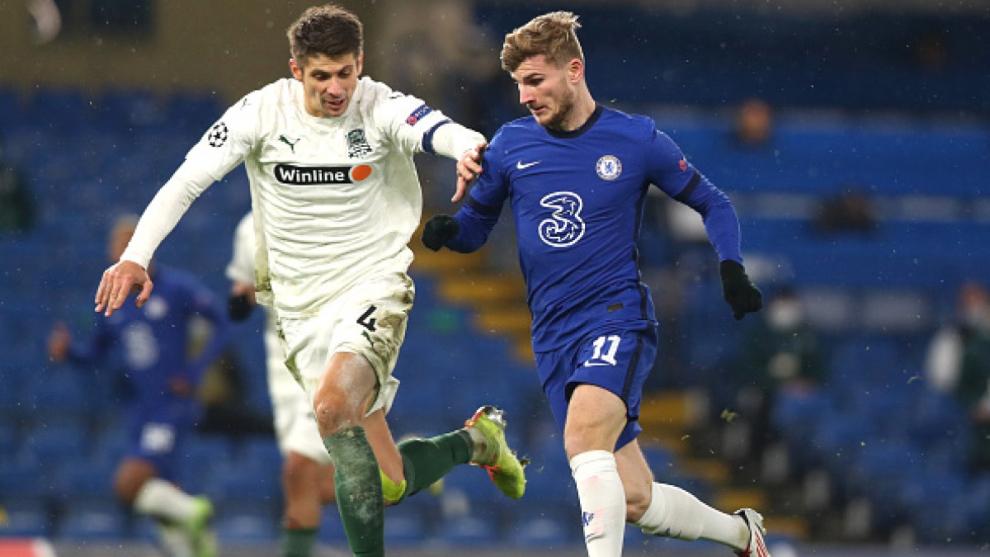 Chelsea y Krasnodar rubrican el empate en el Bridge