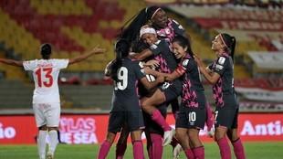 Santa Fe, campeón de la Liga Femenina 2020.