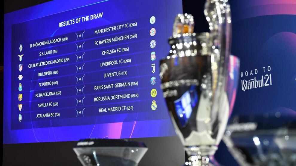 Champions League 2020-21: Definidos los octavos de final, revisa ...