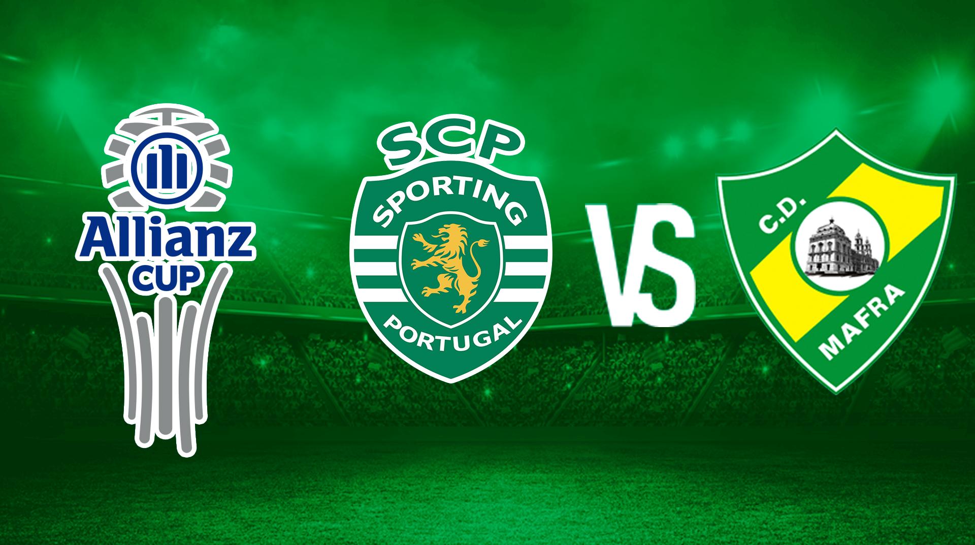 Sporting Lisboa vs CD Mafra en vivo y en directo online: GRATIS...