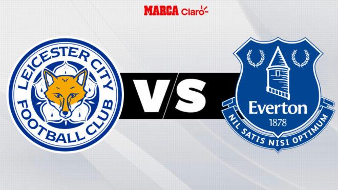 Leicester vs Everton, en vivo online el partido de la Premier League.