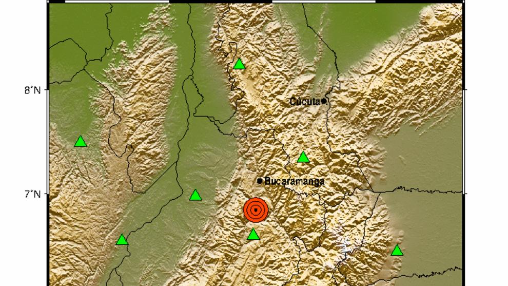Fuerte sismo de magnitud 5.0 sacude a Santander y varias regiones ...