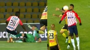 Acá el momento de la polémica en el estadio de Chile.