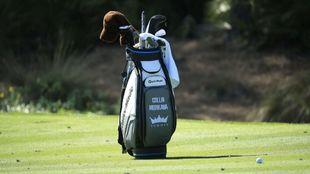 Bolsa de Golf durante un torneo del PGA Tour.
