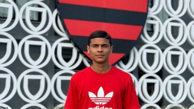 RIchar Ríos debutó ya con el primer equipo de Flamengo ante el Vasco...