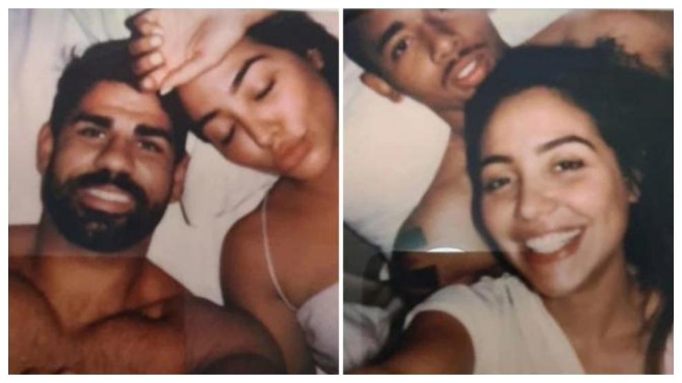 Las fotos de Diego Costa y Gabriel Jesús junto a la misma mujer,