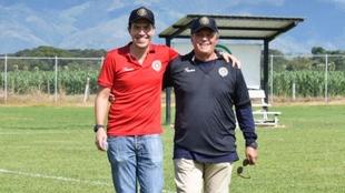 Oscar Ignacio Martán y Oscar Arturo, padre e hijo, encabezan el...