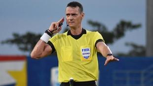 Wilmar Roldán, durante un partido.